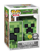 Funko Pop! Minecraft - Creeper (Glow in the Dark)