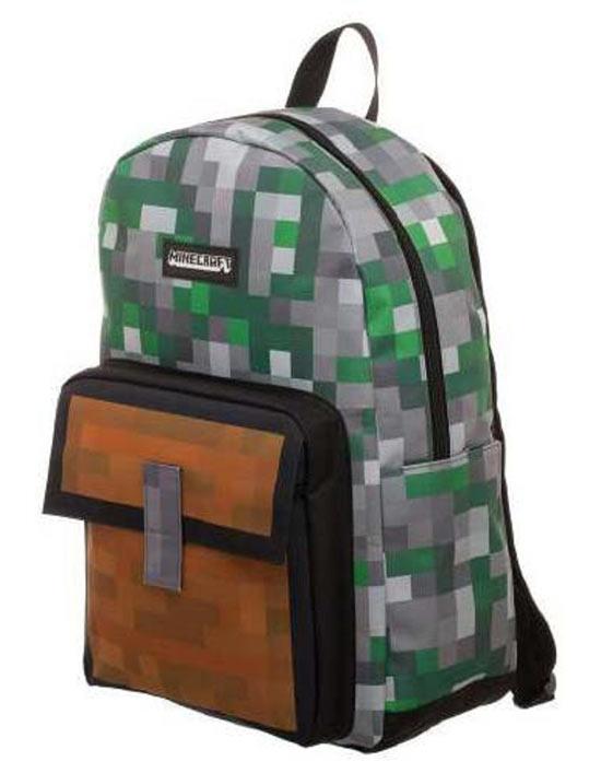 outlet 61483 46c32 Minecraft - Zaino Tasca Marrone | GameStop Italia
