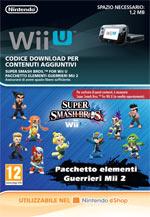 Super Smash Bros per Nintendo WiiU/3DS - Guerrieri Mii 2
