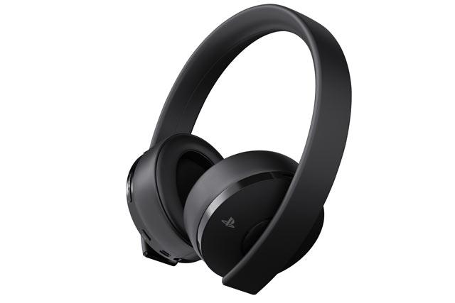 Cuffie PlayStation 4 - Gold Wireless Headset
