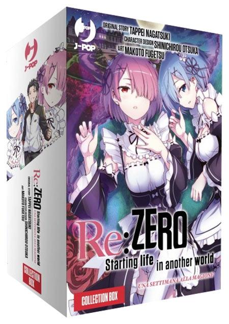 Fumetto Re: Zero - Seconda Stagione - Collection Box (Volumi 1-5)