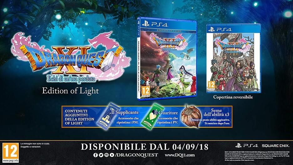 Dragon Quest XI: Echi di un'Era Perduta - Edition of Light