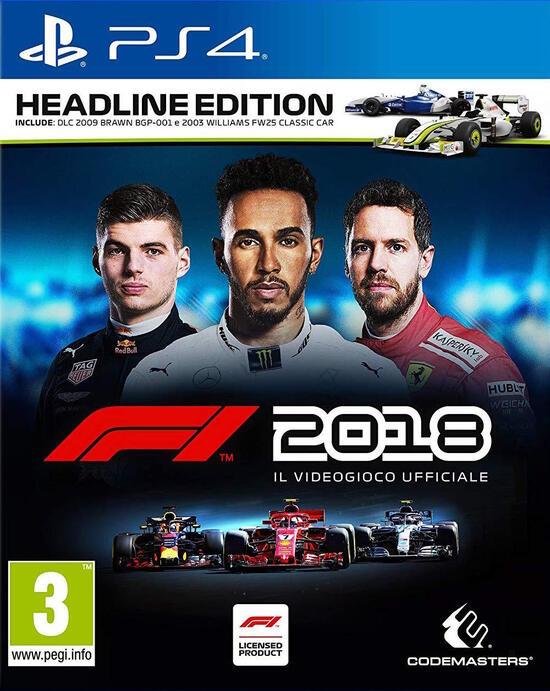 F1™ 2018 - Headline Edition