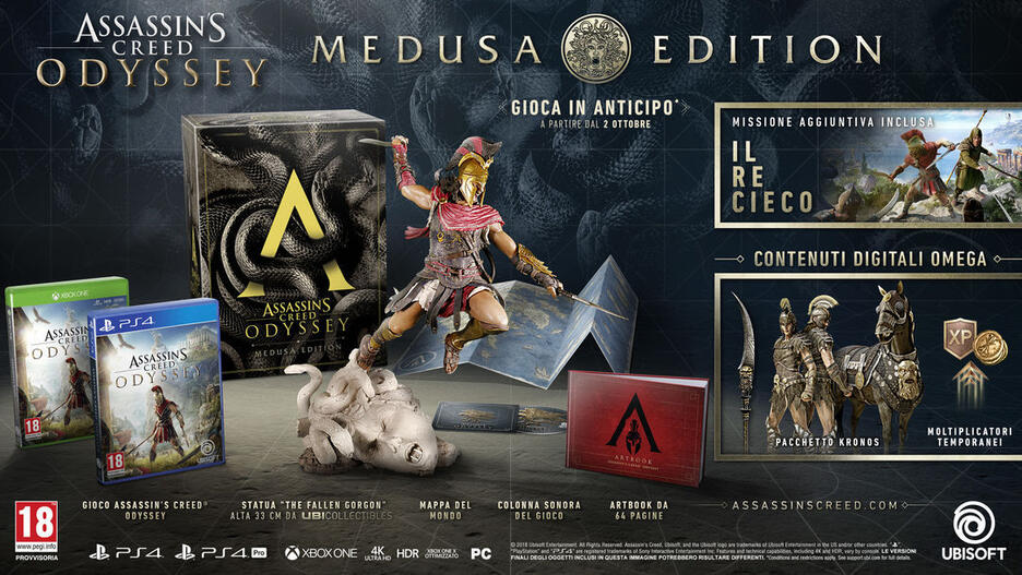 Assassin's Creed Odyssey - Medusa Edition