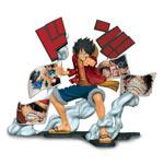 Figure One Piece - Monkey D. Luffy (Story Age)