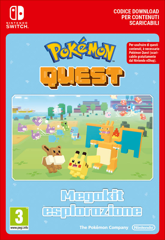 Pokémon Quest - Megakit Esplorazione