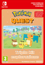 Pokémon Quest - Triplo Kit Esplorazione