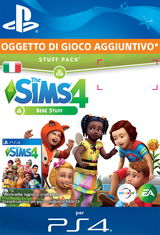 The Sims 4: Bebè Stuff