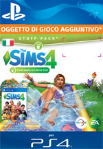 The Sims 4: Divertimento in Cortile Stuff