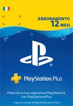 PSN PlayStation Plus Card 12 Mesi