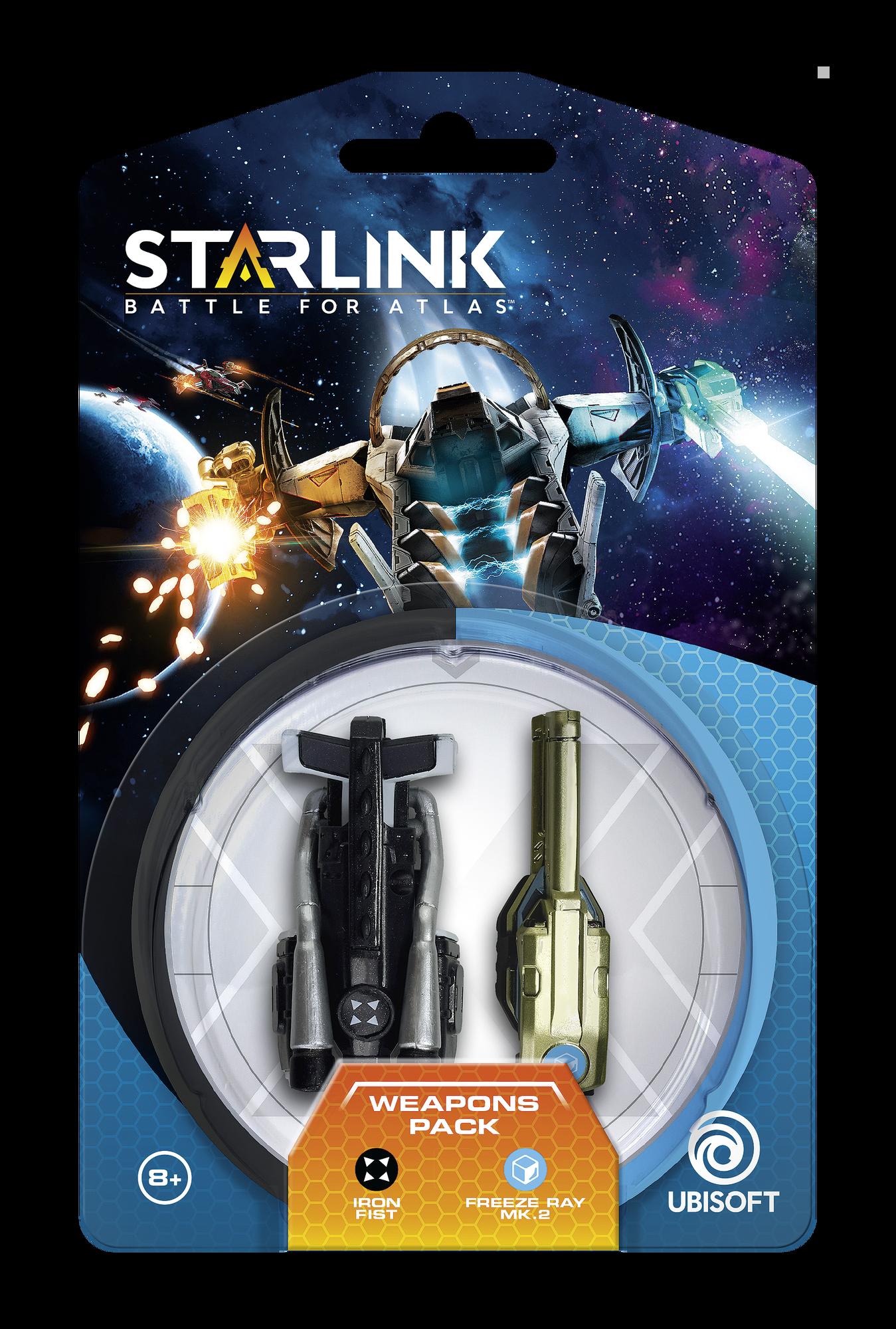 Starlink: Battle for Atlas - Armi Pack (Iron Fist | Freeze Ray Mk.2 )