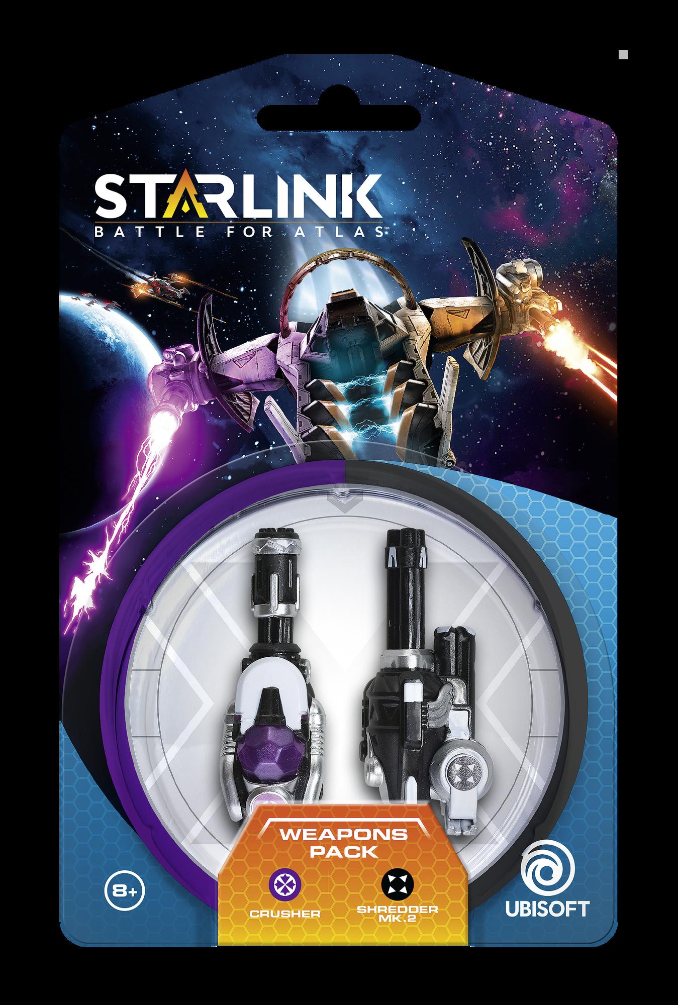 Starlink: Battle for Atlas - Armi Pack (Crusher | Shredder Mk.2)