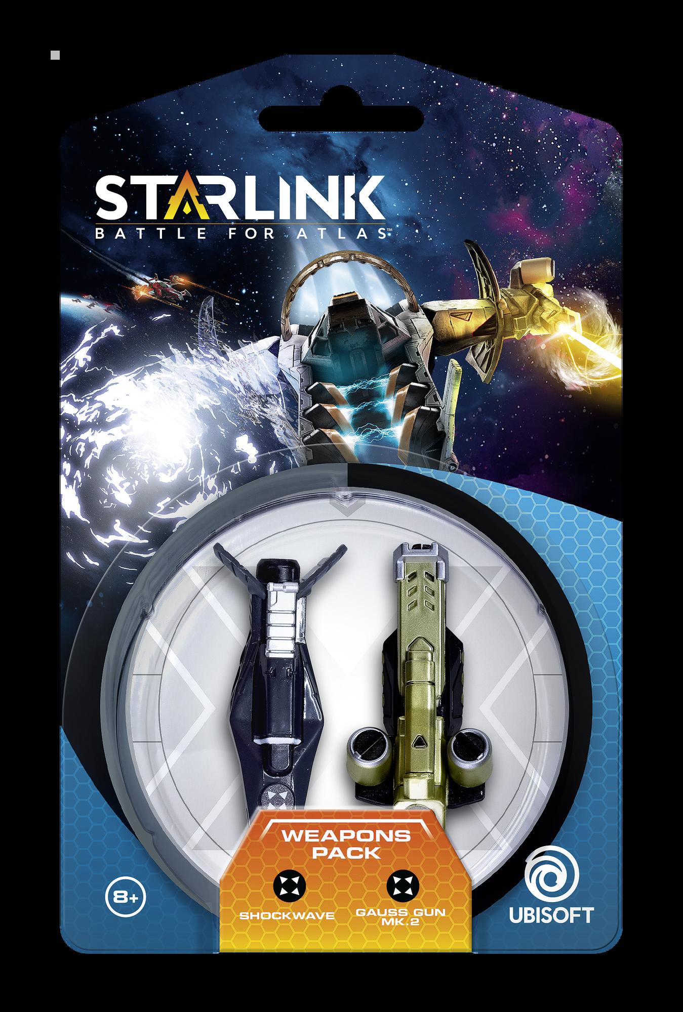Starlink: Battle for Atlas - Armi Pack (Shockwave | Gauss Gun Mk.2)