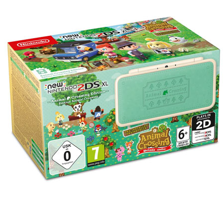 New Nintendo 2DS XL - Animal Crossing Edition