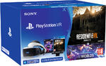 PlayStation VR + PS Camera + VR Worlds + Resident Evil 7