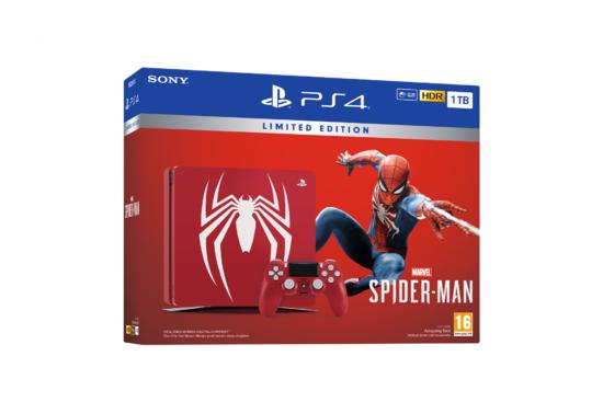 PS4 1TB Limited Edition + Marvel's Spider-Man