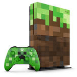 Xbox One S 1TB + Minecraft Pack