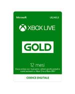 Xbox Live GOLD - Abbonamento 12 Mesi