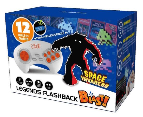 Classic Flashback Blast! Space Invaders