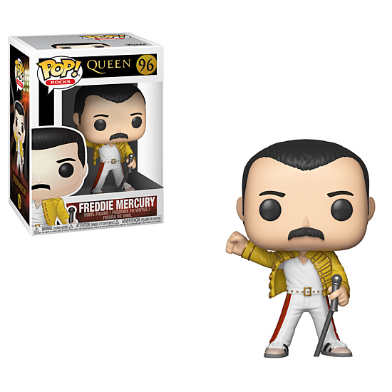 Funko Pop! - Freddie Mercury Wembley 1986