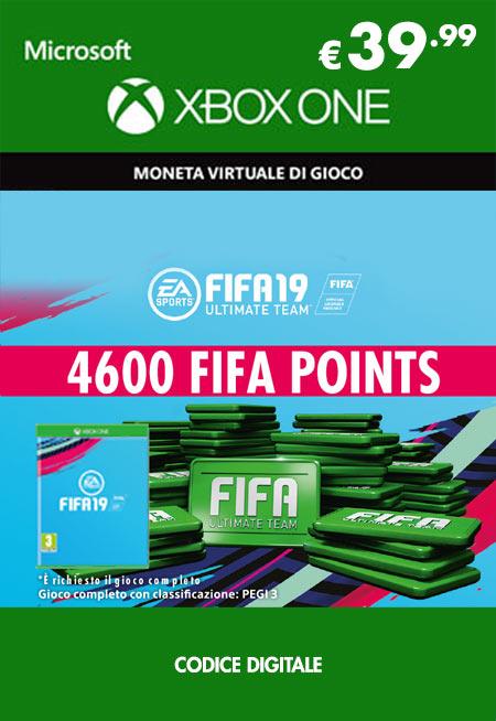 Fifa 19 - 4600 FUT Points
