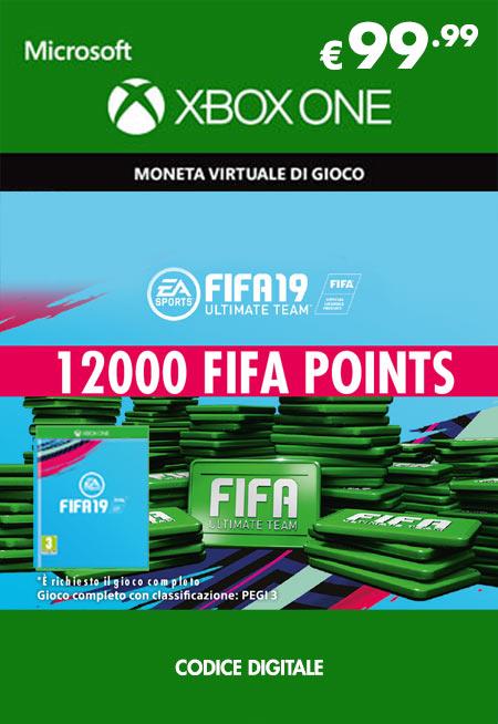 Fifa 19 - 12000 FUT Points