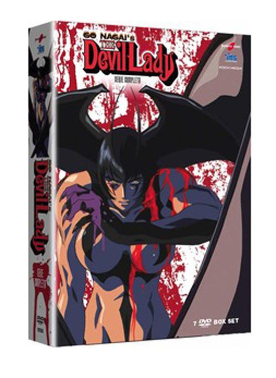 Devil Lady. La serie completa (7 DVD)