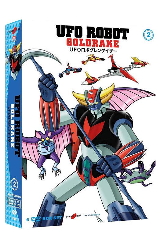 DVD Ufo Robot Goldrake - Volume 2