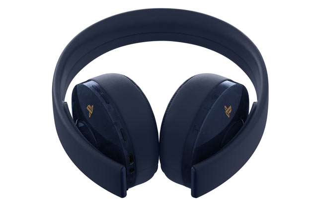 Cuffie PlayStation 4 - Gold Wireless Headset (500 Milion Edition)