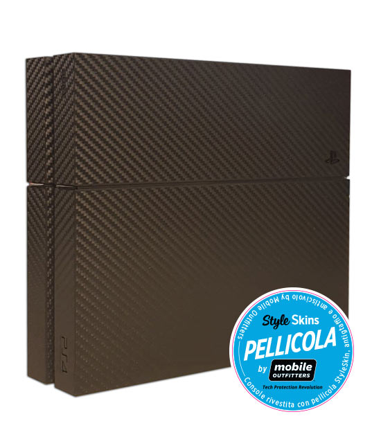 PS4 500GB + Pellicola Carbonio (Mobile Outfitters)