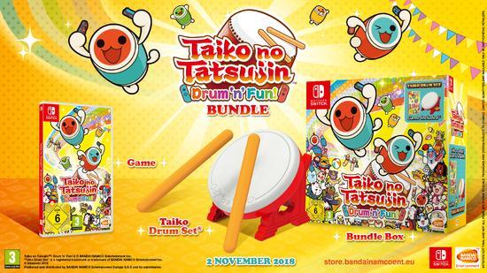 Taiko No Tatsujin -  TATACON Bundle
