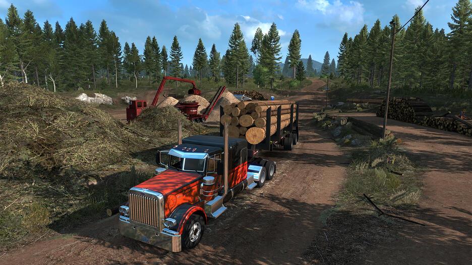 American Truck Simulator - Oregon