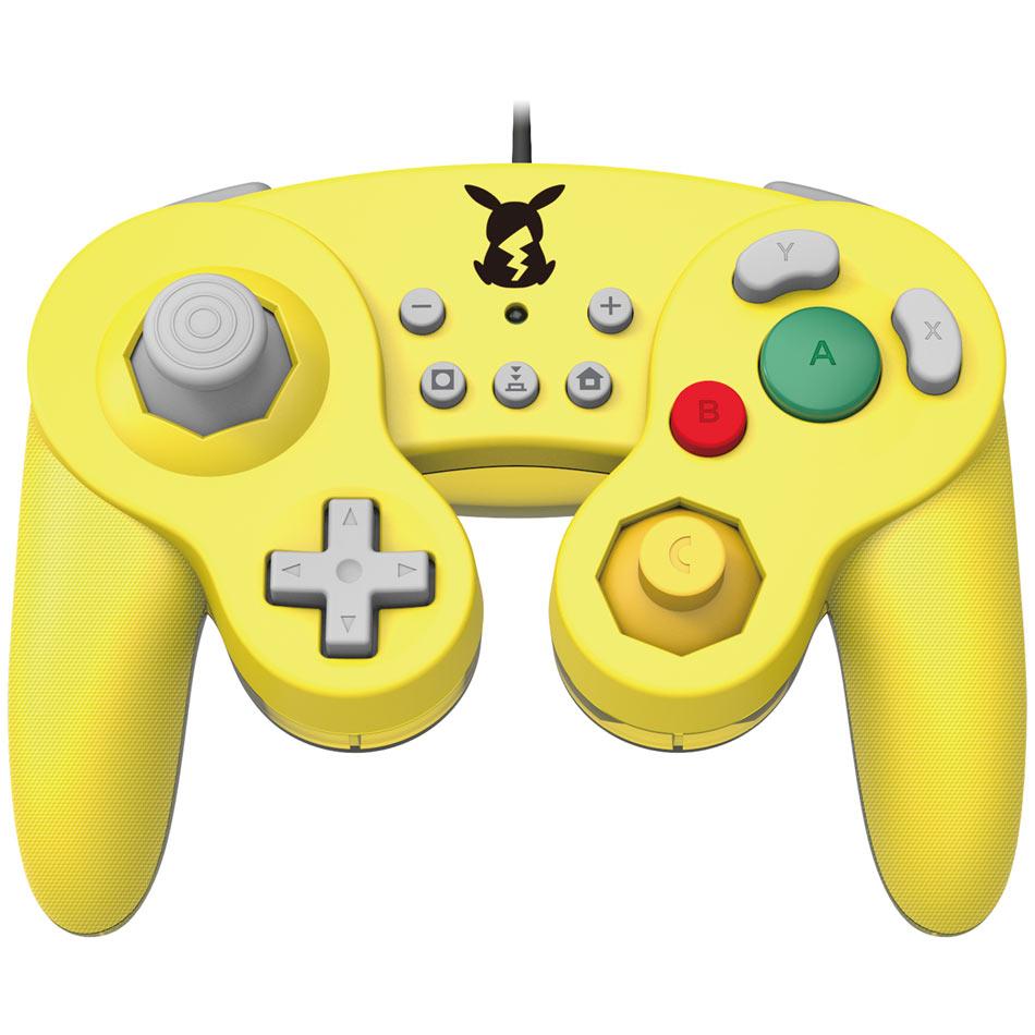 Controller Hori Nintendo Swith - Battle Pad Pikachu