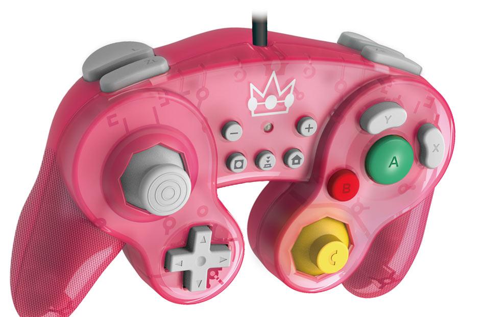 Controller Hori - Battle Pad - Peach (Super Mario)