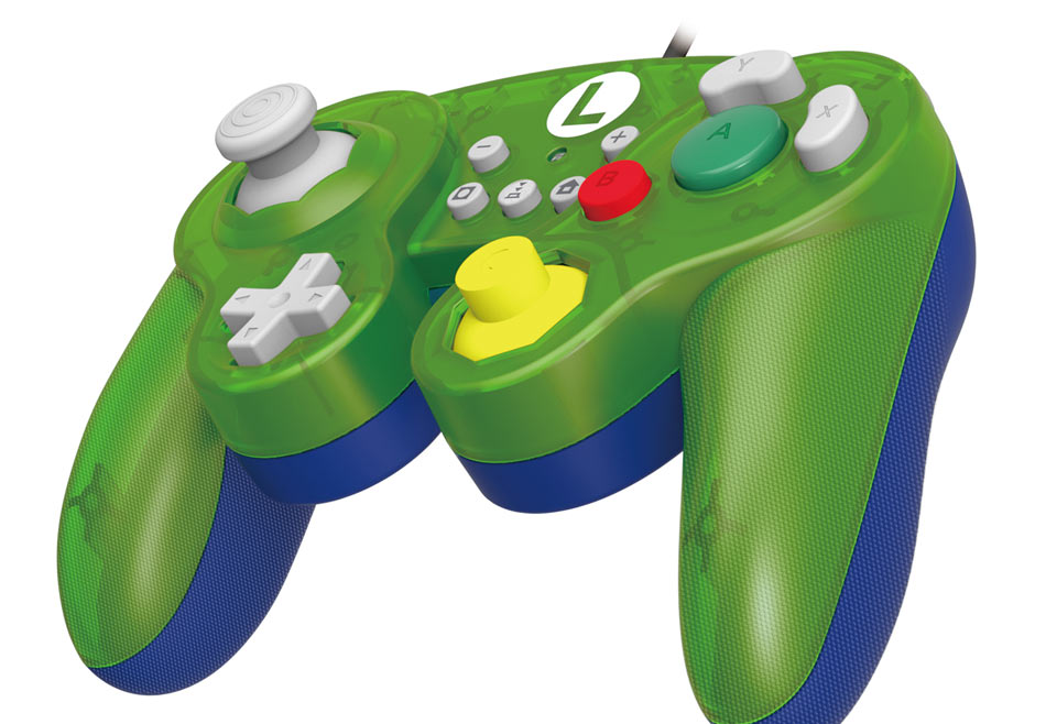 Controller Hori Nintendo Switch - Luigi battle pad (SuperMario)