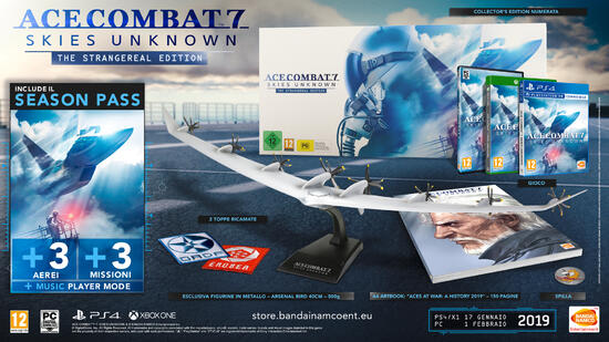 ACE COMBAT® 7: SKIES UNKNOWN Collector's Edition
