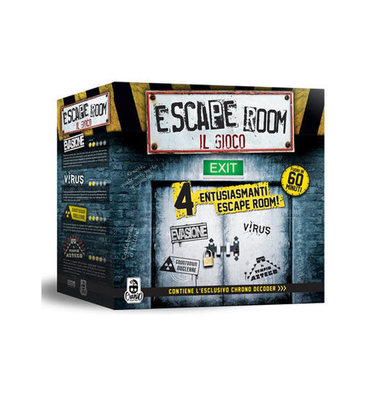 Gioco Da Tavolo - Escape Room: Il Gioco