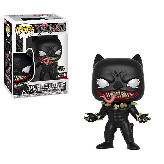 Funko Pop! - Venom Black Panther (Marvel)