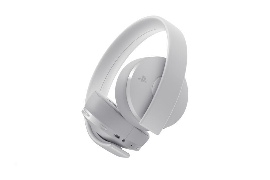 Cuffie PlayStation 4 - Gold Wireless Headset (Bianco)