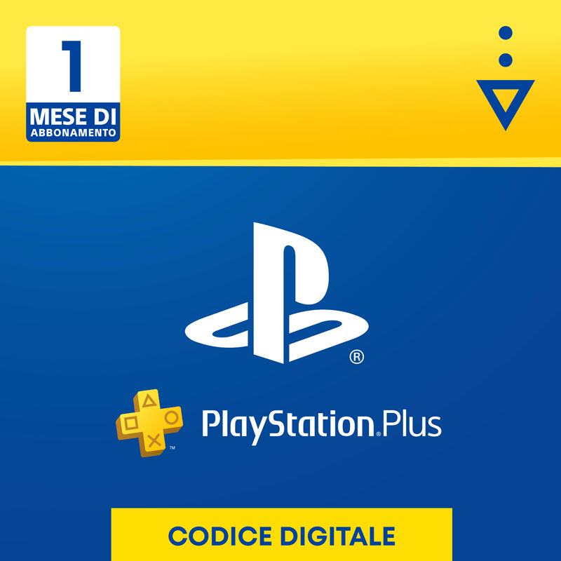 PlayStation Plus Card 1 Mese
