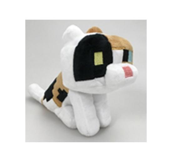 Peluche Minecraft - Gatto Calico