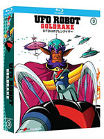 Ufo Robot Goldrake Vol.3 (Blu-Ray)
