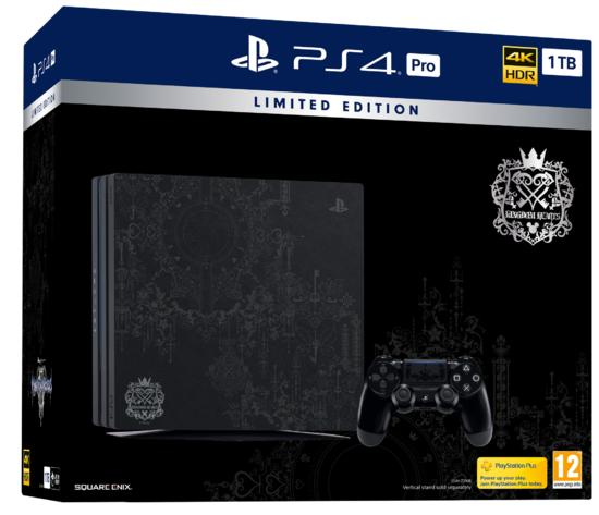 PS4 Pro 1TB + Kingdom Hearts 3 Special Edition