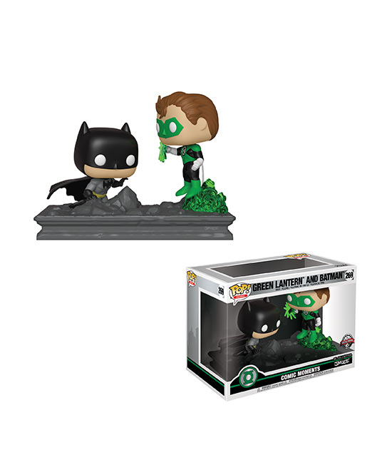 Comic Moments Funko Pop! - Lanterna Verde & Batman