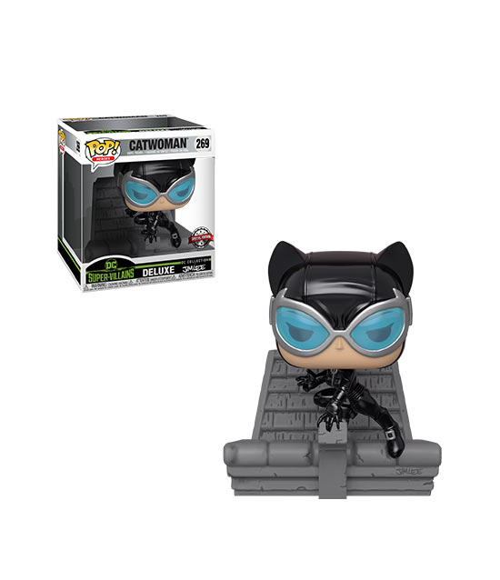 Funko Pop! - Catwoman (DC Super-Villains)