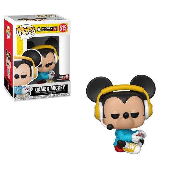 Funko Pop! - Topolino Gamer Seduto (Mickey's 90th)