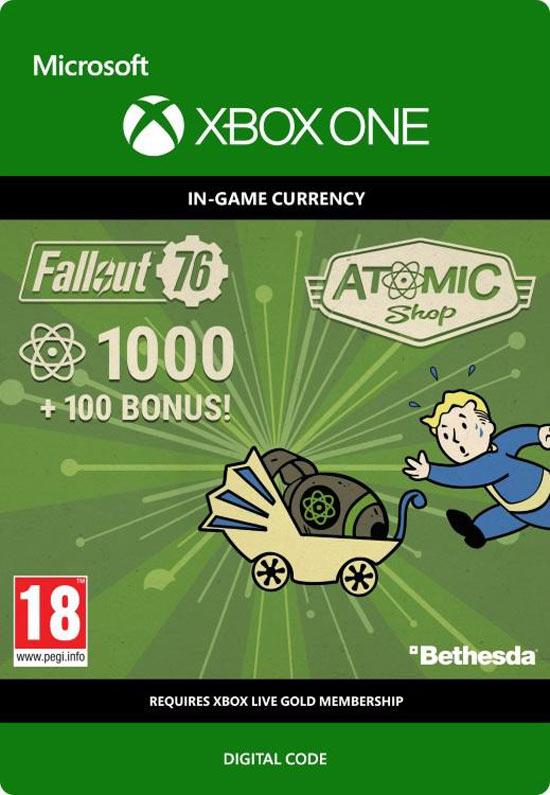Fallout 76: 1000 (+100 Bonus)