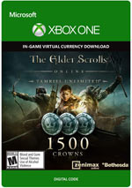 the elder scrolls online - 1500 crown pack