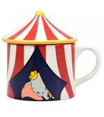Tazza Dumbo - Circus Con Coperchio