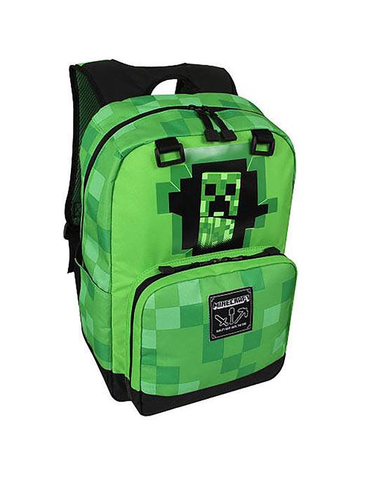 Zaino Minecraft - Creepy Creeper